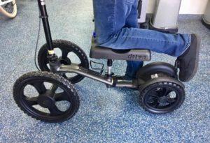 orthopedic leg scooters
